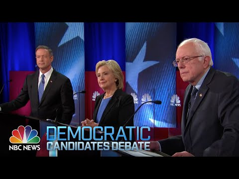 Watch The Full Democratic Debate From Sunday