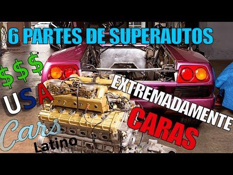 CORREGIDO (DOLARES) - 6 Partes de Super Autos Increiblemente Caras  *CarsLatino*