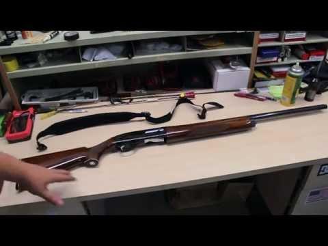 How to dismantle S&W Model 1000 12 gauge Semi-Auto Shotgun