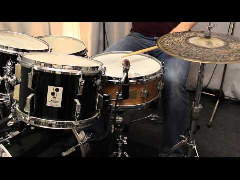 Cube heavy beech snare with Sonor Phonic BopKit