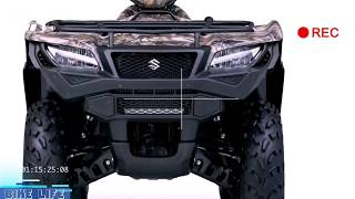 10. (HOT INFO) 2017 2018 Suzuki KingQuad 500AXi Power Steering Camo Review