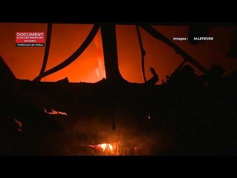 Paris: Drei Tote und viele Verletzte bei Wohnhausbrand