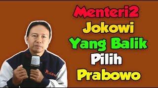 Video Menteri2 yang dulu dukung Jokowi sekarang Pindah Ke Prabowo MP3, 3GP, MP4, WEBM, AVI, FLV Oktober 2018