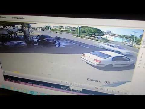 EXCLUSIVO - (VÍDEO) Furto de moto em Jales hoje (11/10/16)
