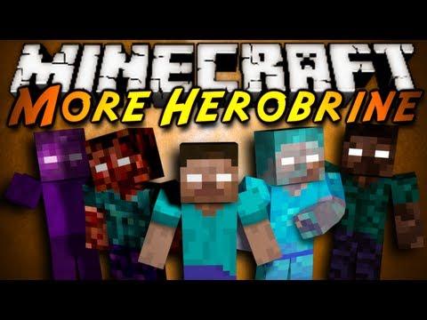 Minecraft Mod Showcase : MORE HEROBRINE!!