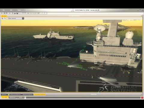 Dassault Systemes 3D simulation - CATIA goes virtual reality