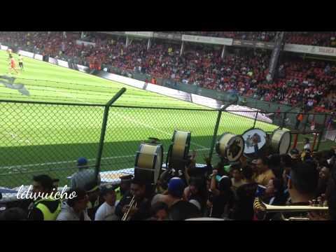 Entrada de C.A.R's.C. a la Bombonera (Toluca vs Pumas 2015) - La Rebel - Pumas