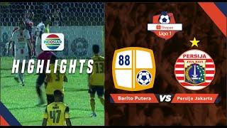 Barito Putera (1) vs (1) Persija Jakarta - Goal Highlights | Shopee Liga 1