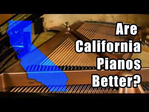 Why are California Pianos Better?