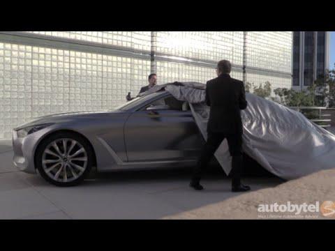 Hyundai Vision G Concept Car Reveal