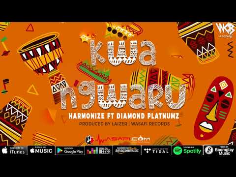 Video Harmonize ft Diamond Platnumz - Kwa Ngwaru (Official Audio) download in MP3, 3GP, MP4, WEBM, AVI, FLV January 2017