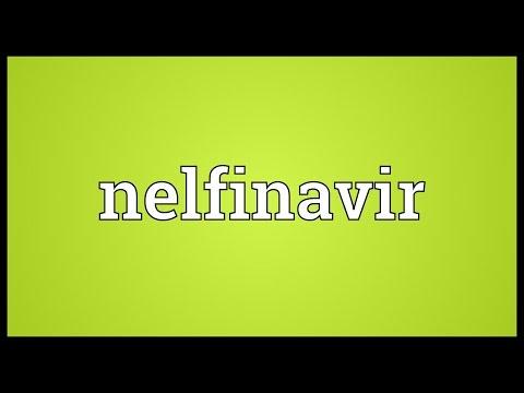 Nelfinavir Meaning