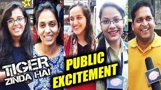 Tiger Zinda Hai | Public Review | First Day First Show Excitement | Salman Khan | Katrina Kaif