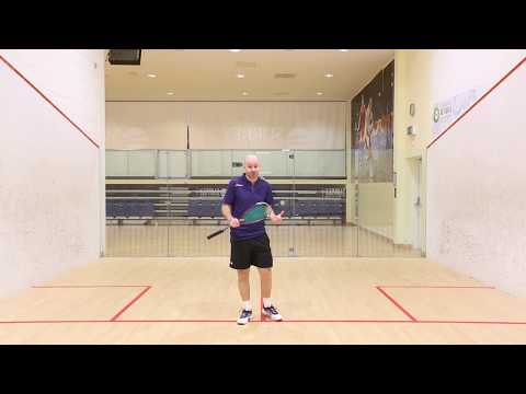 Squash tips: How to anticipate where the ball is going