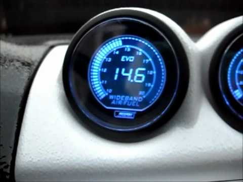 gauges - short video of the New Prosport Evo lineup. This video shows the start up sequence and them operating while the car is running. Gauges come in Blue and red. ...