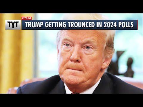 Trump Getting TROUNCED in 2024 Polls