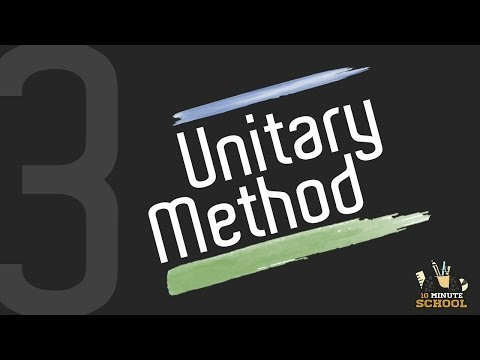 3. Unitary Method [SSC | HSC | Admission]
