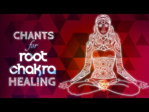 Soothing Root Chakra Chants - Seed Mantra Lam Chanting Meditation {muladhara} Chakra Healing Music