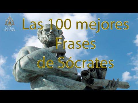 Frases celebres - Las 100 Mejores Frases de Sócrates
