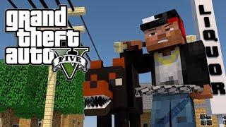Minecraft GTA V | Grand Theft Auto V Mod Ep 1! (GTA 5)