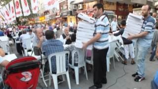 MHP Zeytinburnuİlçe Başkanlığı 58 Bulvarda İftar Verdi