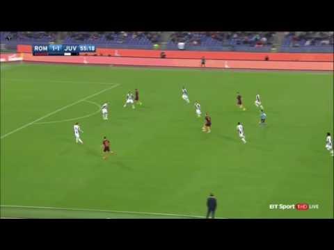 AS Roma Vs Juventus (2) - 1 ( Stephan El Shaarawy ) 56'