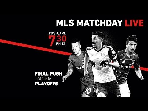 MLS MatchDay Live – Week 33 Postgame