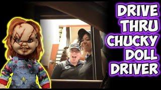 Drive Thru Chucky Doll Driver