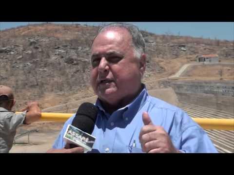 Antonina do Norte: Dr. Roberto Pessoa e Lúcio Alcantara Visita a Barragem Mamueiro