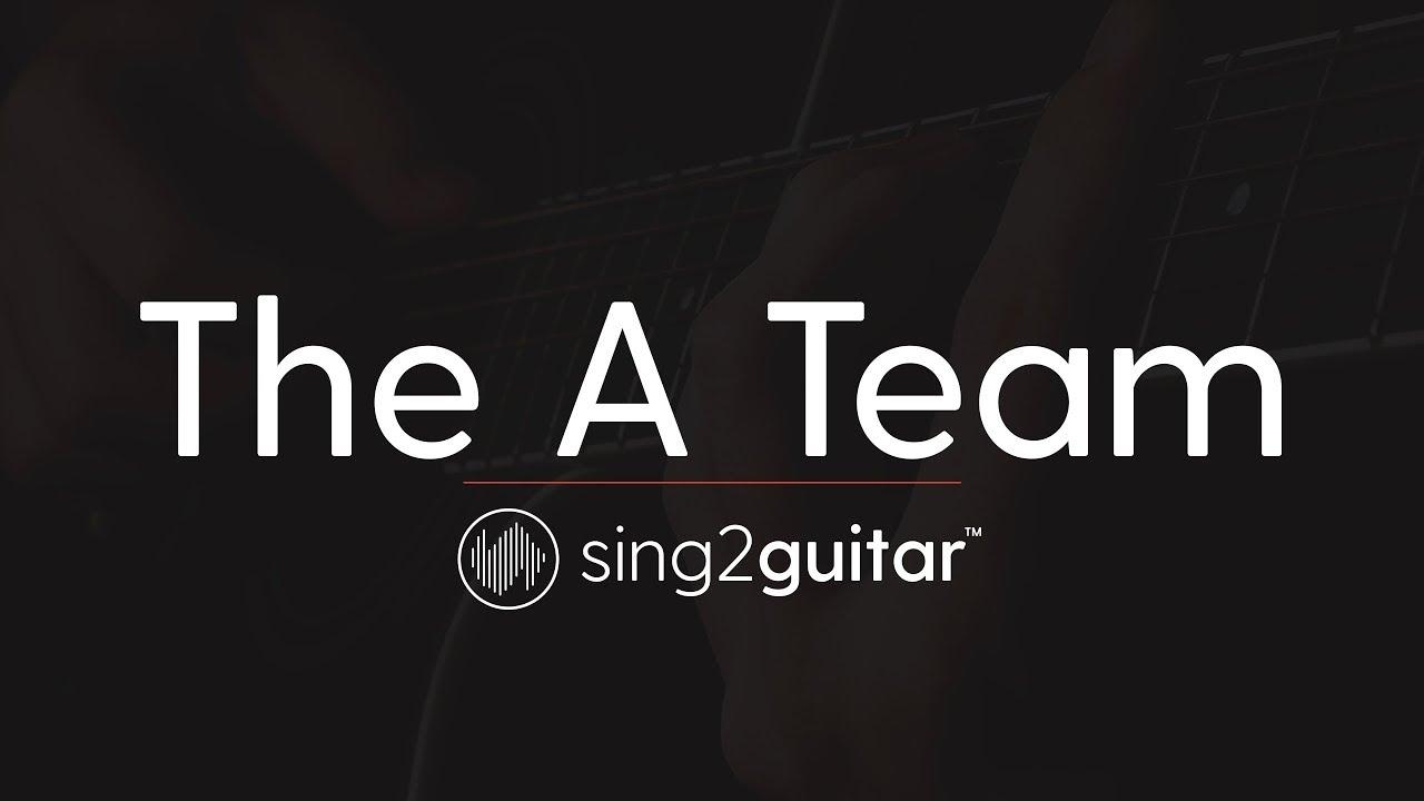 The A Team (Acoustic Guitar Karaoke Instrumental) Ed Sheeran