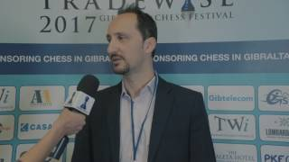 Tania Sachdev interviews Veselin Topalov after his 1-0 swift victory over Thomas Paehtz! #GibChess.