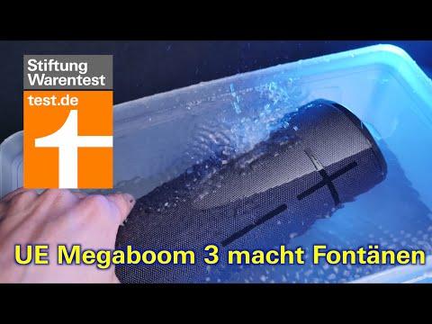 Test Bluetooth-Lautsprecher: UE Megaboom 3 schwimmt im  ...