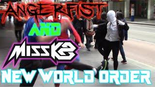 Video Angerfist & Miss K8 | New World Order | Live Action Film Clip MP3, 3GP, MP4, WEBM, AVI, FLV November 2017