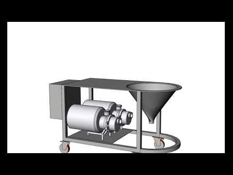 Mezclador de sólidos