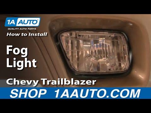 How To Install Repair Replace Chevy Trailblazer Fog Light 02-05 1AAuto.com