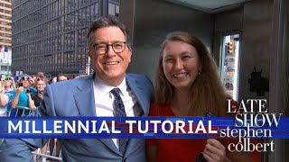Stephen Colbert's Millennial Tutorial: Pay Phone Edition