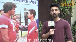 Arun Sashi Speaks at Serndhu Polama Movie Audio Launch