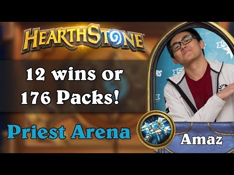 Hearthstone Arena - [Amaz] 12 wins or 280 Packs!