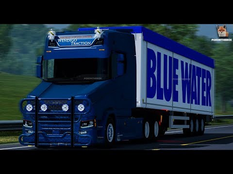 Scania next Torpedo Whit Template v1.0