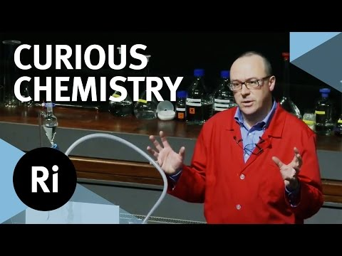 demonstration - Professor Chris Bishop, presenter of the 2008 Royal Institution Christmas Lectures, leads us through a spectacular tour of the curious, and sometimes surpris...