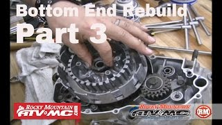 7. Motorcycle Bottom End Rebuild Part 3 (of 3) Final Assembly