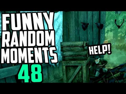 Dead by Daylight funny random moments montage 48