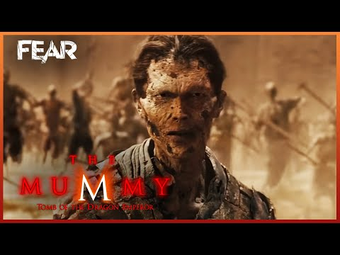 Zi Yuan Raises The Army Of The Dead | The Mummy: Tomb Of The Dragon Emperor