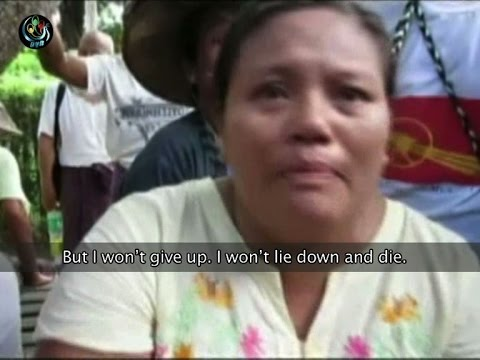 Pegu protesters demand hospital transfer for ill prisoner