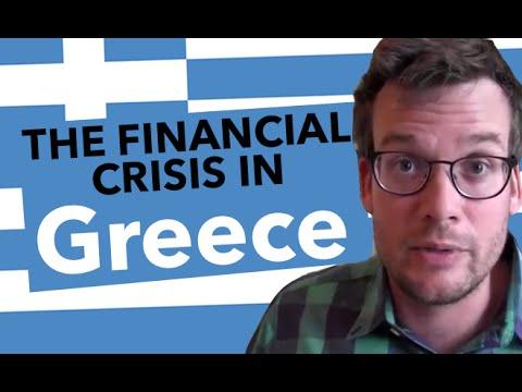 Finanční krize v Řecku