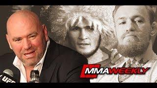Conor McGregor vs Khabib Nurmagomedov Announced by Dana White