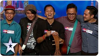 Sada Borneo Keeps Traditional Music Alive | Asia's Got Talent Episode 4 Video