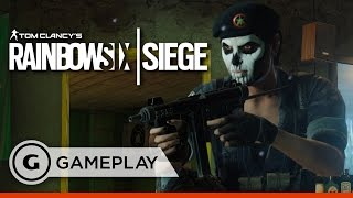 Check out a full match of gameplay from Rainbow Six Siege Skull Rain DLC. Follow Tom Clancy's Rainbow Six Siege at GameSpot.com! http://www.gamespot.com/tom-...