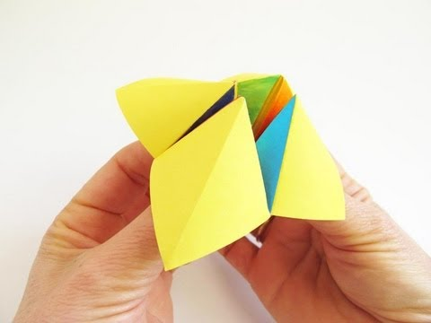 Toy Tutorial - 024 -- Cootie Catcher