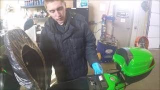 4. 49cc scooter how to change your spark plug, filter on Taotao ATM50A1 Demo